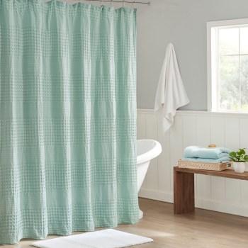 princeton jacquard shower curtain by