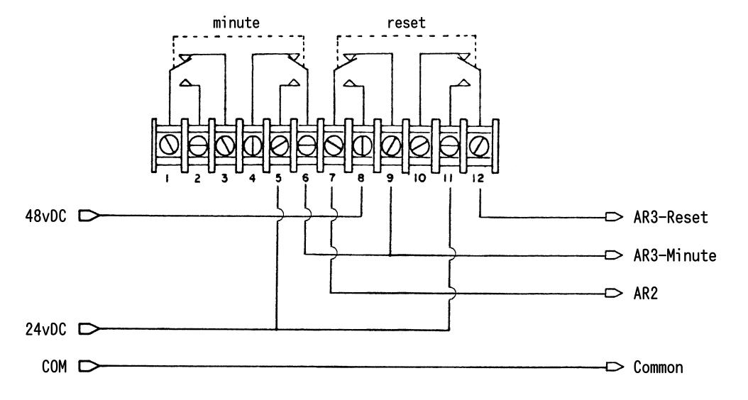 simplex clock wiring diagram