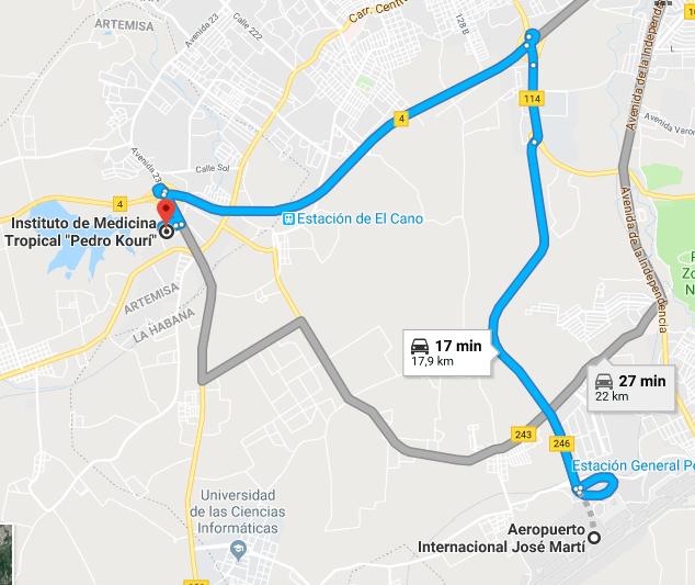 Ruta Rapida Aeropuerto JM IPK