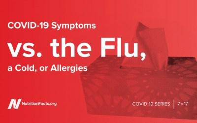 COVID-19症狀與流感,感冒或過敏的關係