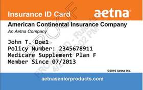 aetna senior supplemental