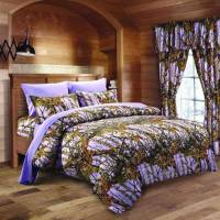 Lavender Camo Bed In A Bag Set - The Swamp Company