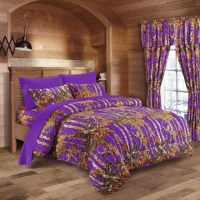 Purple Camo Bed In A Bag Set - The Swamp Company