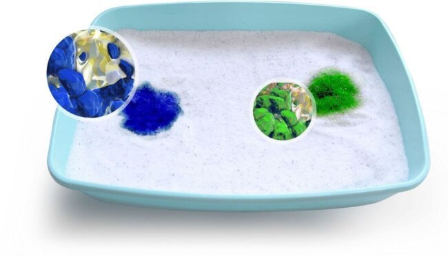 Color-Changing Cat Litter
