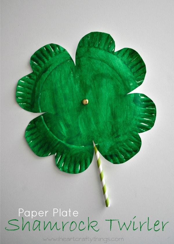 Shamrock Twirler St Patricks Day Craft