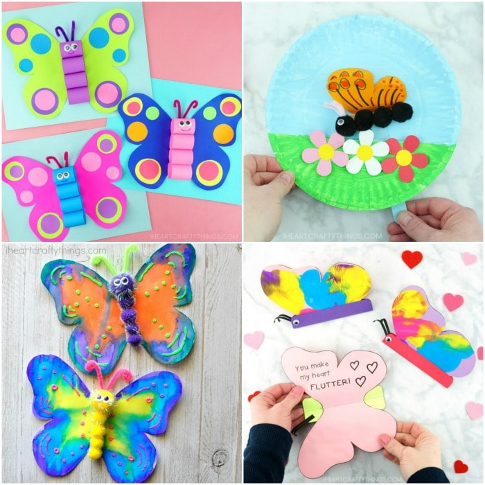 25 Of The Best Butterfly Crafts For Kids Fun Easy Butterfly Craft Ideas