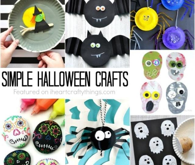 Simple Halloween Crafts Kids Will Love