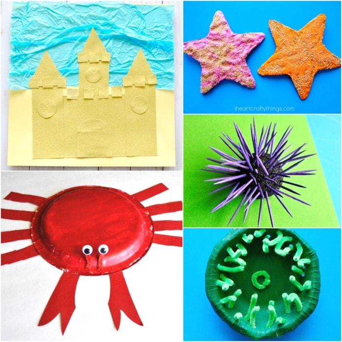 While it's tempting to curl up with a laptop or fire up netflix on a day off, crafts are another fun way to get the creative juices flowing. Easy Summer Crafts For Kids 100 Arts And Crafts Ideas For All Ages I Heart Crafty Things