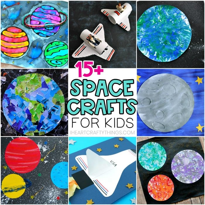 Become a space whiz with our solar system facts. 15 Space Crafts For Kids Easy Crafts For Preschoolers And Kids I Heart Crafty Things