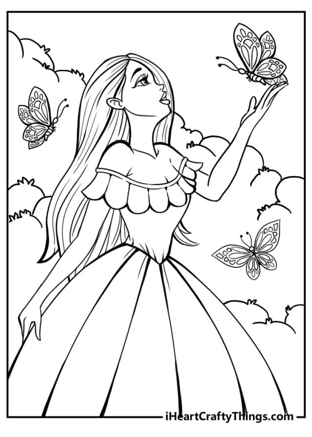 Barbie Coloring Pages - All New And Updated For 19