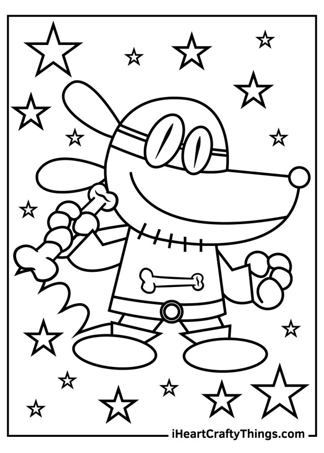Dog Man Coloring Pages (Updated 21)