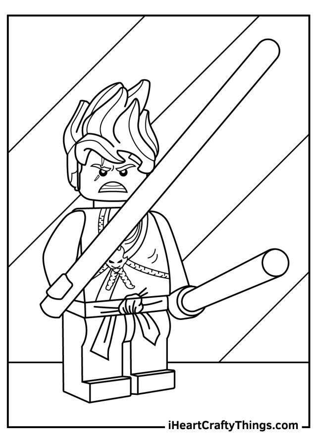 Printable Lego Ninjago Coloring Pages (Updated 25)