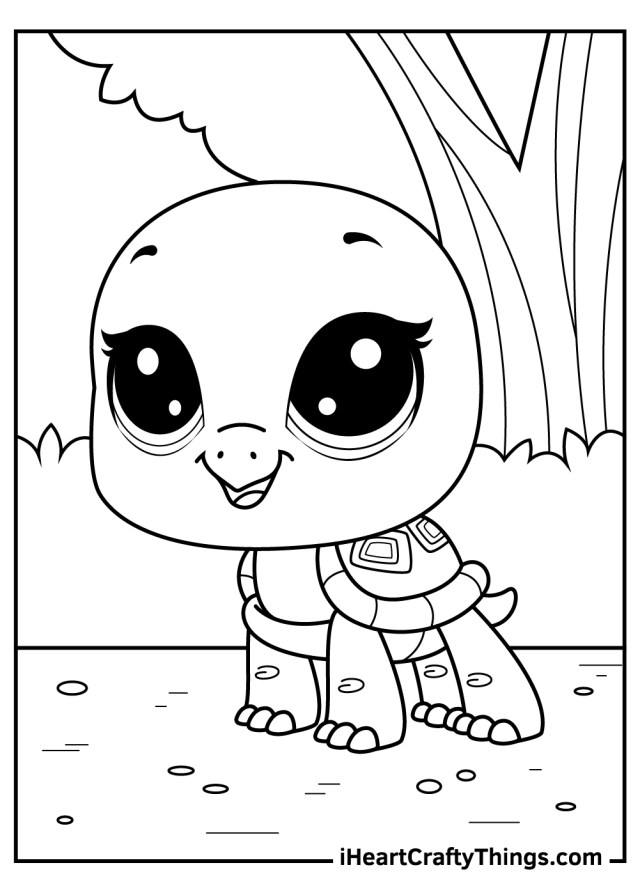 Littlest Pet Shop Coloring Pages (Updated 21)