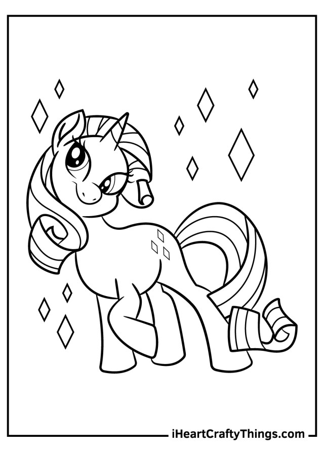 My Little Pony Coloring Pages (Updated 29)