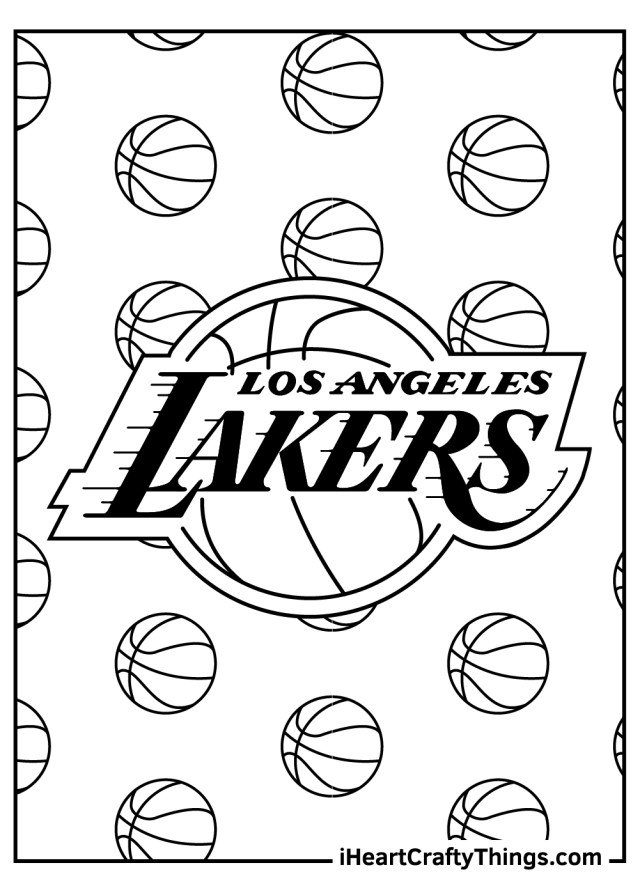 NBA Coloring Pages (Updated 20)
