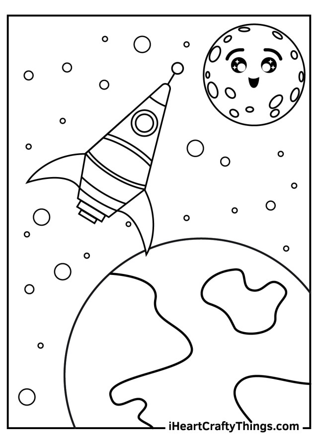 Outer Space Coloring Pages (Updated 16)