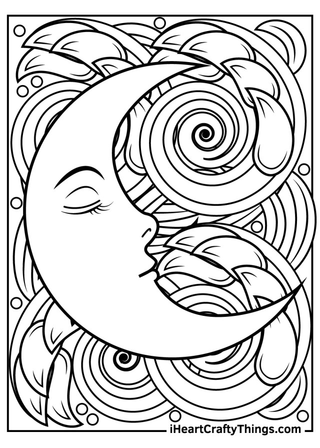 Sun And Moon Coloring Pages (Updated 20)