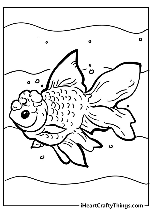 Fish Coloring Pages (Updated 17)