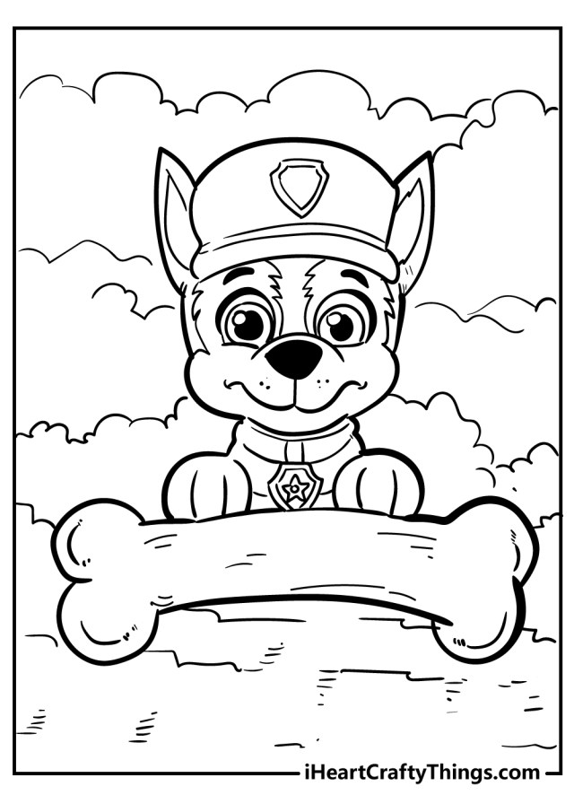 Paw Patrol Coloring Pages (Updated 22)