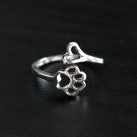 Always By My Heart Adjustable Ring  iHeartDogs.com
