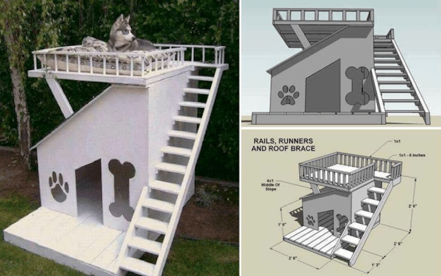 DIY Dog House Ideas For Crafty And Not So Crafty Dog Lovers