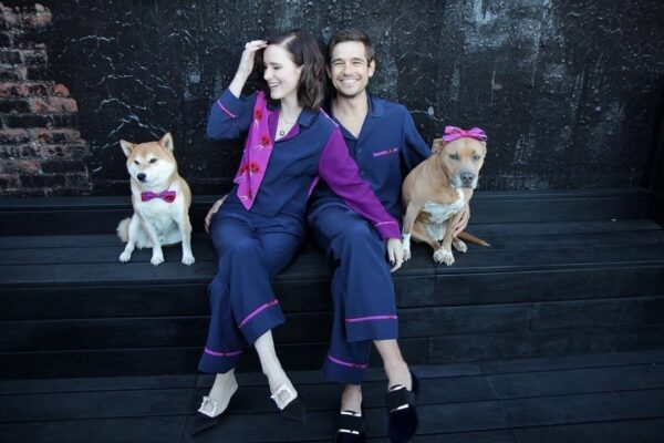 Rachel Brosnaham Pajamas and Dogs