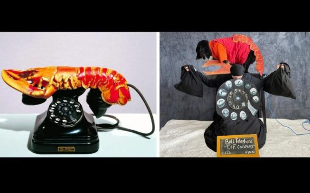 Lobster telephone recreated