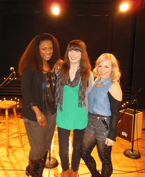 With Jully Black and All About Maggie