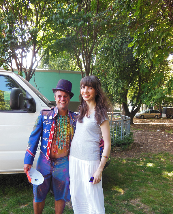 With A Mid Summer's Dream organizer Mark Gowland