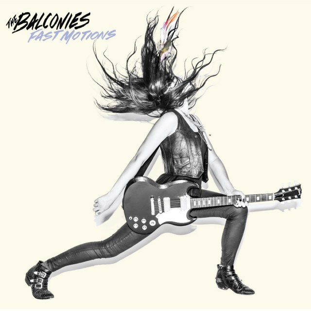 "The Balconies' album ""Fast Motions"""
