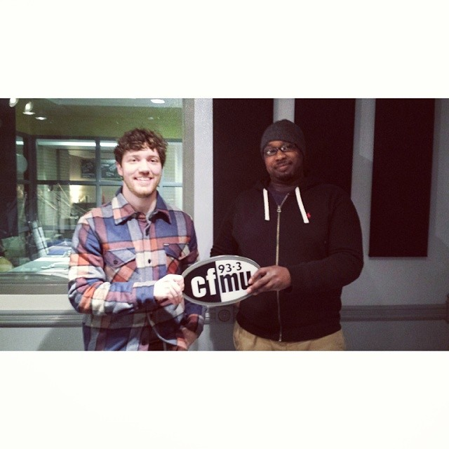 Troy from Illitry and Kobi of Canadian Winter