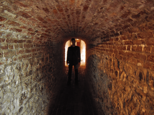 Grant in the tunnel