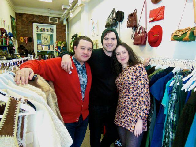 Aaron Duarte, Paul Heaton, and Sarah Moyal of The Eye of Faith/Hawk & Sparrow