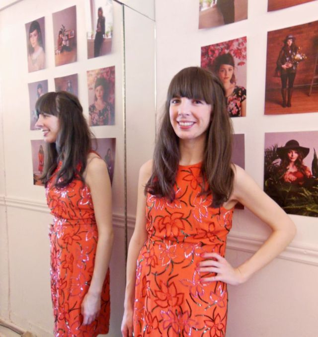 """""""Poison ivy"""" dress from the 80's ($56) from Girl on the Wing"""