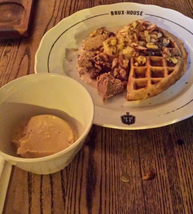 Dessert at Brux House