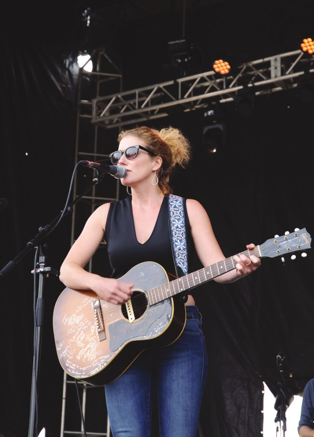 Kathleen Edwards performing at Harvest Picnic 2015