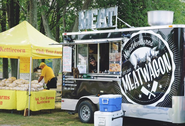 Meat Ventures food truck at Harvest Picnic