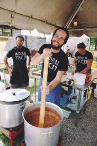 The Flying Chestnut Kitchen at Harvest Picnic 2015