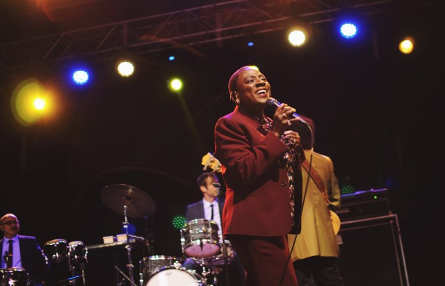 Sharon Jones and the Dap Kings performing at Supercrawl 2015
