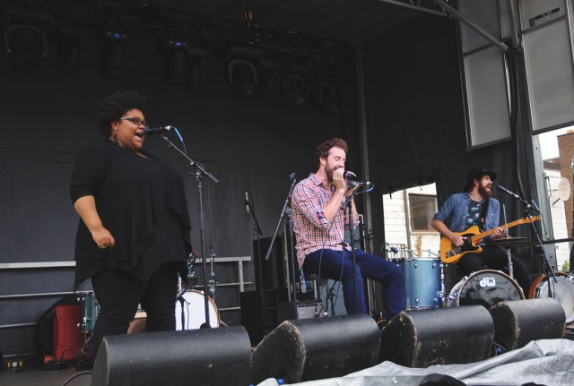 The Harpoonist & the Axe Murderer performing at Supercrawl 2015