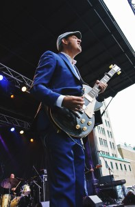 Steve Strongman performing at Supercrawl 2015