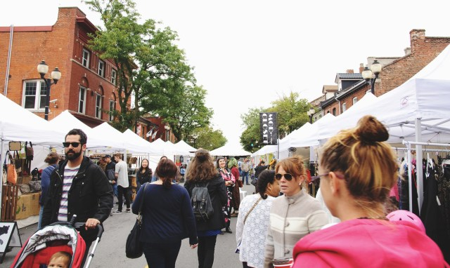Fashion Zone at Supercrawl 2015