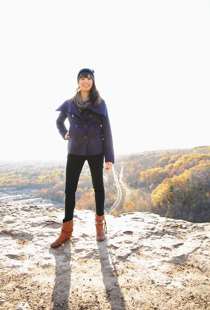 Kristin Archer at Dundas Peak