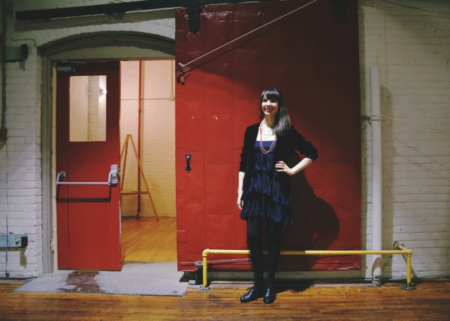 Kristin Archer at The Cotton Factory. Photo by Lisa Vuyk