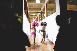 Dancers at Pop Up Hamilton. Photo by Lisa Vuyk