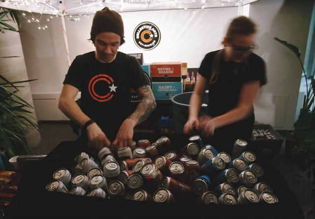 Collective Brew at Hamilton Public Library. Photo by Lisa Vuyk