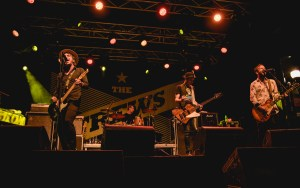 The Trews performing at Supercrawl 2016