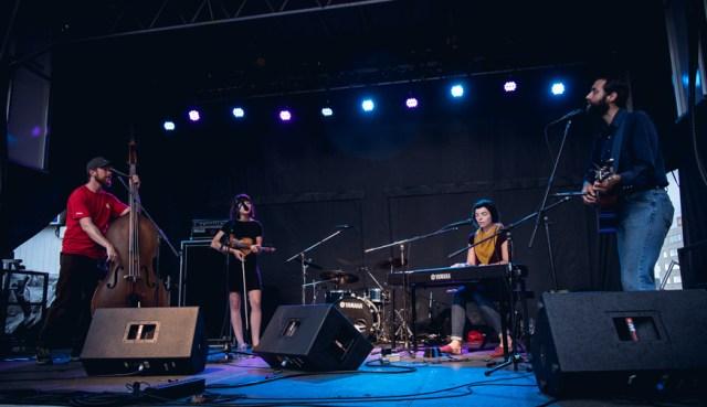 Coszmos Quartette. Photo by Lisa Vuyk