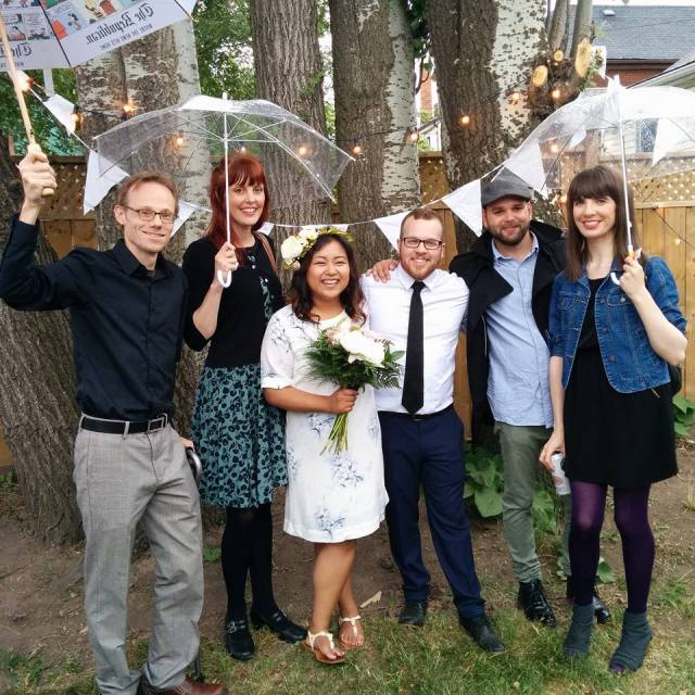 The Generator team at Chanry's wedding