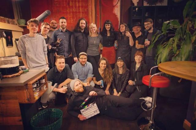 Band Du Jour crew. Photo courtesy of Barred Media